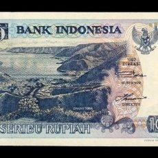 Billetes extranjeros: INDONESIA 1000 RUPIAH 1992 (1998) PICK 129G SC UNC. Lote 194560843