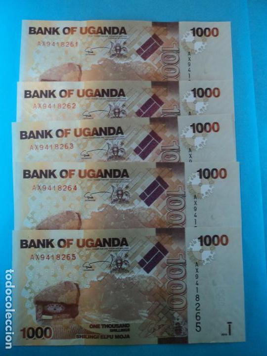2010 UGANDA p new UNC 5000 SHILLING