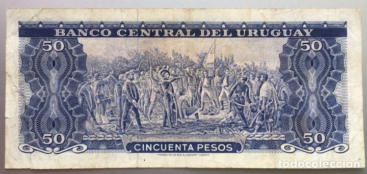 URUGUAY. 100 PESOS (Numismática - Notafilia - Billetes Extranjeros)