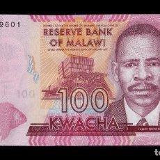 Billetes extranjeros: MALAWI - 100 KWACHA - 1ST. JANUARY 2017 - S/C (VER FOTO ADICIONAL). Lote 183341710