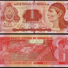 Billetes extranjeros: HONDURAS - 1 LEMPIRA - 12 DE JUNIO DE 2014 - S/C. Lote 172308628
