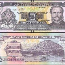 Billetes extranjeros: HONDURAS - 2 LEMPIRAS - 12 DE JUNIO DE 2014 - S/C. Lote 172308820