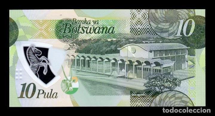 BOTSWANA 10 Pula 2010 Pick 30b UNC