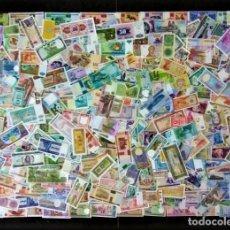 Billetes extranjeros: GRAN LOTE 150 BILLETES DEL MUNDO CALIDAD UNC TODOS DIFERENTES. Lote 172874134