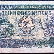 Billetes extranjeros: MOZAMBIQUE BILLETE DE 500 METICAIS DE 1986 S/C. Lote 173049624