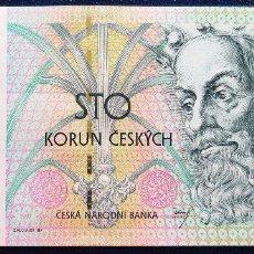 Billetes extranjeros: CHECOSLOVAQUIA BILLETE DE 100 KORUN DE 1997 S/C P-18. Lote 173049877
