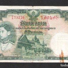 Billetes extranjeros: THAILANDIA 20 BAHT (ND) 1939 MBC. Lote 173314923
