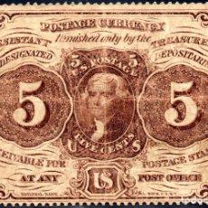 Billetes extranjeros: ESTADOS UNIDOS UNITED STATES USA - 5 CENTAVOS - SERIES DE 1862 PICK 97 A . Lote 173807522