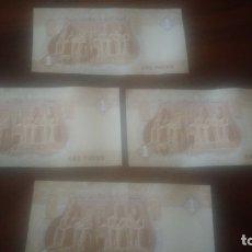 Billetes extranjeros: BILLETES EGIPCIOS ,MUY BUENA CONSERVACIÓN,..... Lote 173853887
