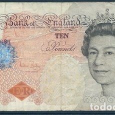 Billetes extranjeros: GRAN BRETAÑA - 10 LIBRAS - MBC - SERIE HA - VISITA MIS OTROS LOTES Y AHORRA GASTOS DE ENVÍO. Lote 174034050