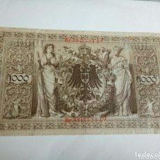 Billetes extranjeros: BILLETE ALEMAN. Lote 174135288