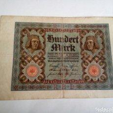 Billetes extranjeros: BILLETE ALEMÁN. Lote 174136950