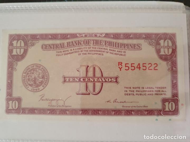 10 CENTAVOS DE FILIPINAS (Numismática - Notafilia - Billetes Extranjeros)