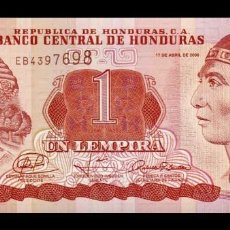 Billetes extranjeros: HONDURAS 1 LEMPIRA 2008 PICK 89A SC UNC. Lote 174176650