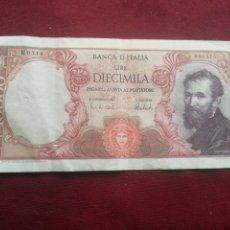 Billetes extranjeros: ITALIA. 10000 LIRAS. Lote 175155618