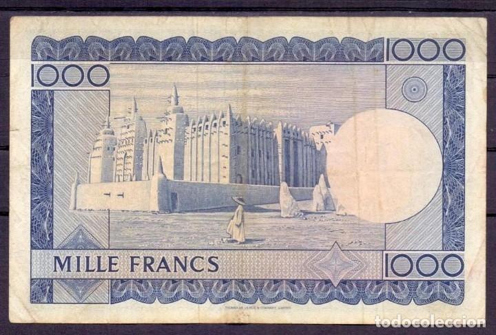Billetes extranjeros: 1000 FRANCOS MALI 1960 MBC+ - Foto 2 - 51587040