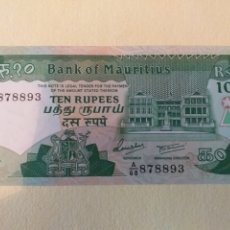 Billetes extranjeros: BILLETE ISLAS MAURICIO 10 RUPIAS S/C. Lote 175368020