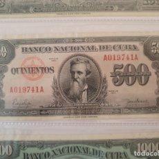 Billetes extranjeros: 500 PESOS CUBA. Lote 175407158