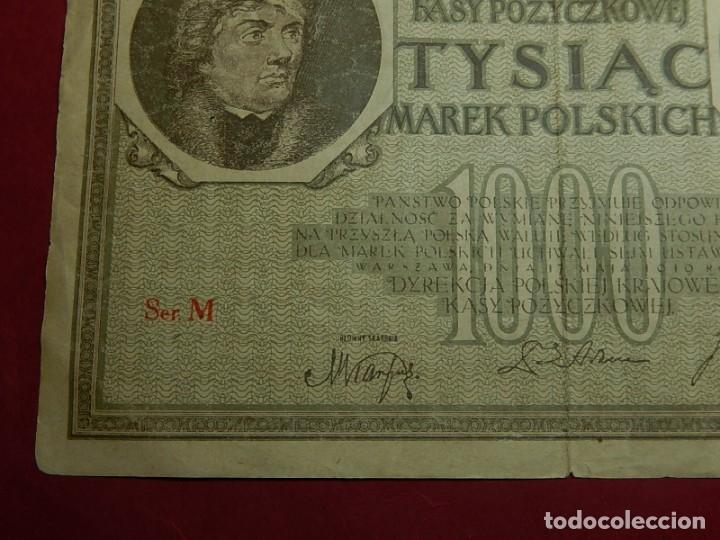 Billetes extranjeros: Polonia, 1000 Tysiac. 1919. - Foto 3 - 175948764