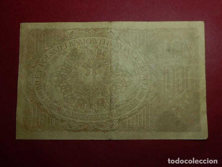 Billetes extranjeros: Polonia, 1000 Tysiac. 1919. - Foto 7 - 175948764