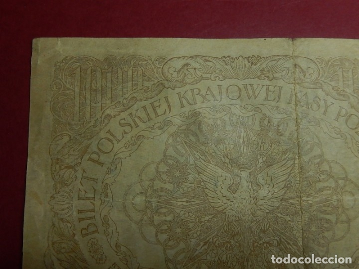 Billetes extranjeros: Polonia, 1000 Tysiac. 1919. - Foto 8 - 175948764