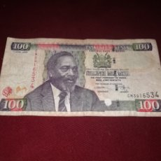 Billetes extranjeros: KENYA. 100 SHILINGI DE 2006. Lote 176514902