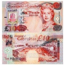 Billetes extranjeros: GIBRALTAR 2006 10 LIBRAS NUEVO SC PLANCHA SERIE AA. Lote 176575052