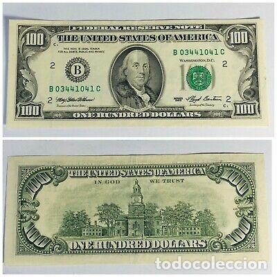 USA EEUU ESTADOS UNIDOS 100 DOLARES DOLLARS 1993 SC- VER DETALLE (Numismática - Notafilia - Billetes Extranjeros)