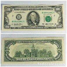 Billetes extranjeros: USA EEUU ESTADOS UNIDOS 100 DOLARES DOLLARS 1993 SC- VER DETALLE. Lote 176582980