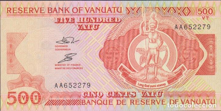 BILLETES - VANUATU - 500 VATU 1993 - PICK-5 (SC) (Numismática - Notafilia - Billetes Extranjeros)