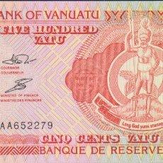 Billetes extranjeros: BILLETES - VANUATU - 500 VATU 1993 - PICK-5 (SC). Lote 176592140