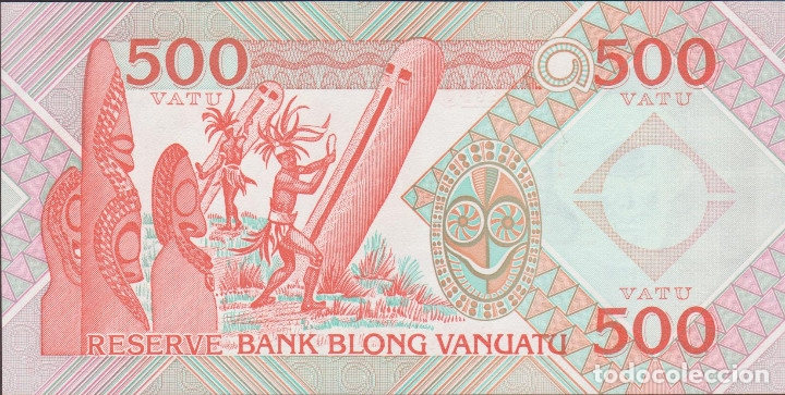 Billetes extranjeros: BILLETES - VANUATU - 500 VATU 1993 - PICK-5 (SC) - Foto 2 - 176592140