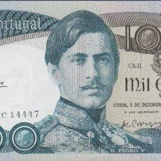 Billetes extranjeros: BILLETES - PORTUGAL - 1000 ESCUDOS 1981 - SERIE GDC - PICK-175C (SC). Lote 176730078