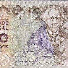 Billetes extranjeros: BILLETES - PORTUGAL - 1000 ESCUDOS 1988 - SERIE CCQ - PICK-181E (SC-). Lote 176730953