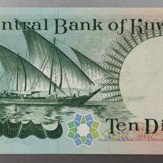 Billetes extranjeros: KUWAIT. 10 DINARES 1968. Lote 177026612