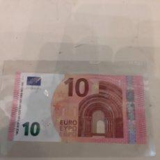 Billetes extranjeros: IRLANDA 10 EUROS TD0782803351 DRAGHI 803351. Lote 177272854