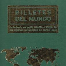 Billetes extranjeros: BILLETES DEL MUNDO COMPLETO 52 BILLETES. DE CURSO LEGAL EL MUNDO AFINSA 2003. PERFECTO ESTADO.. Lote 177297135