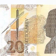 Billetes extranjeros: ESLOVENIA 20 TOLARJEV 1992 SC/UNC. Lote 177398083