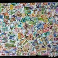 Billetes extranjeros: GRAN LOTE 125 BILLETES DEL MUNDO CALIDAD UNC TODOS DIFERENTES. Lote 177515353