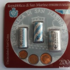 Billetes extranjeros: CARTERA SAN MARINO 2006. ROLLOS SAN MARINO 2006. SC. Lote 177669967