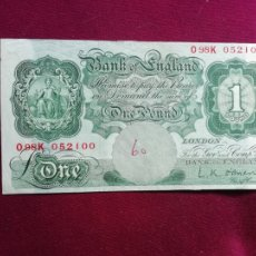 Billetes extranjeros: REINO UNIDO. POUND. LIBRA. Lote 177676642