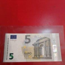 Billetes extranjeros: GRECIA 5 EUROS 2013 DRAGHI 392151 YA 6197392151 SIN CIRCULAR. Lote 177789955