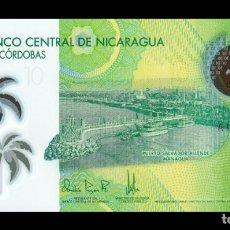 Billetes extranjeros: NICARAGUA 10 CÓRDOBAS 2014 PICK 209 POLIMERO SC UNC. Lote 206971701