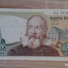 Billetes extranjeros: BILLETE 2.000 LIRAS ITALIANAS-ITALIA-AÑO 1976 MBC BANCA D'ITALIA DUEMILA LIRE 1976. Lote 178253922