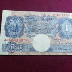 Billetes extranjeros: REINO UNIDO. POUND . Lote 178348511