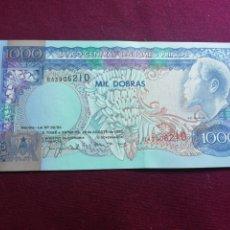 Billetes extranjeros: SANTO TOME Y PRINCIPE 1000 DOBRAS 26.8.1993 SC UNC. Lote 178354431