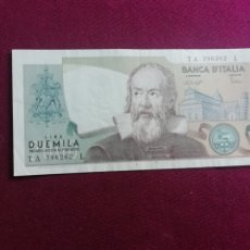 Billetes extranjeros: ITALIA - 2000 LIRE - 1983 EBC+. Lote 178568927