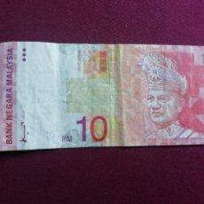 Billetes extranjeros: MALASIA. 10 RINGGIT DE 1997. Lote 178617377