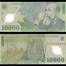 Billetes extranjeros: RUMANIA 10000 LEI 2000 PIK 112B EBC+. Lote 179030338