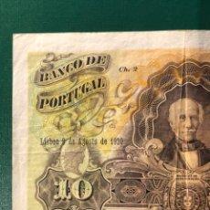Billetes extranjeros: PORTUGAL 10 ESCUDOS 1920. Lote 179113510
